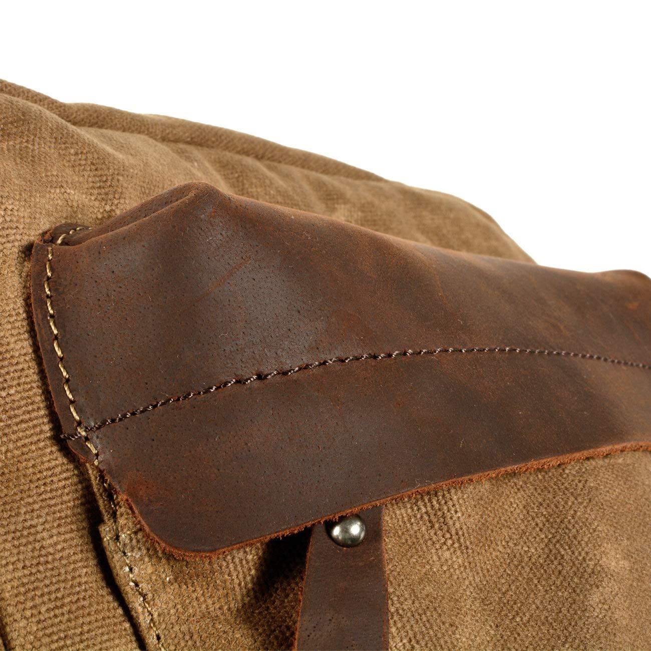 Color : Army Green JFIDSJ Car Sticker Retro Mens Shoulder Bag Canvas Business Messenger Bag Casual Postman Cross Package