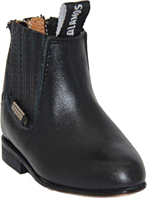 Kids Leather Ankle Boots Toddler Infant Western Boot