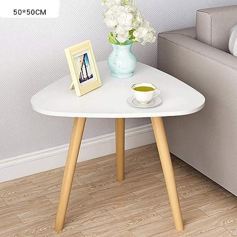 Amazon.com: Zcx Mesa de café, mesa auxiliar triangular ...