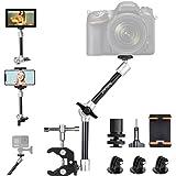 "11"" Adjustable Heavy Duty Robust Magic Arm, DSLR Mirrorless Action Camera Camcorder Smartphone LCD Monitor Video Light Vlog R"
