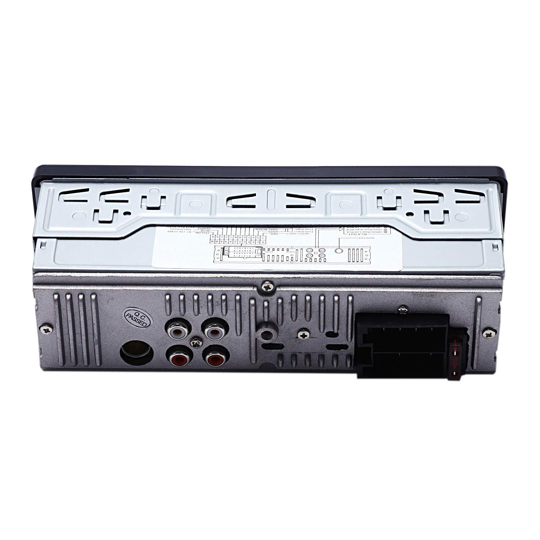 TOOGOO Bluetooth Vintage Radio para Coche Reproductor De Mp3 Est/éreo USB Aux Cl/ásico Coche De Audio Est/éreo Veh/ículo Integrado Radio para Coche Reproductor De Mp3