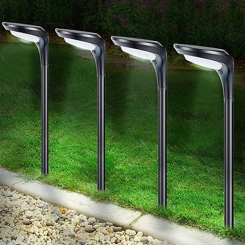 Litake Solar Pathway Lights Outdoor