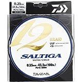 Daiwa Saltiga 12 Braid 600m multicolore - Ligne de pêche tressée