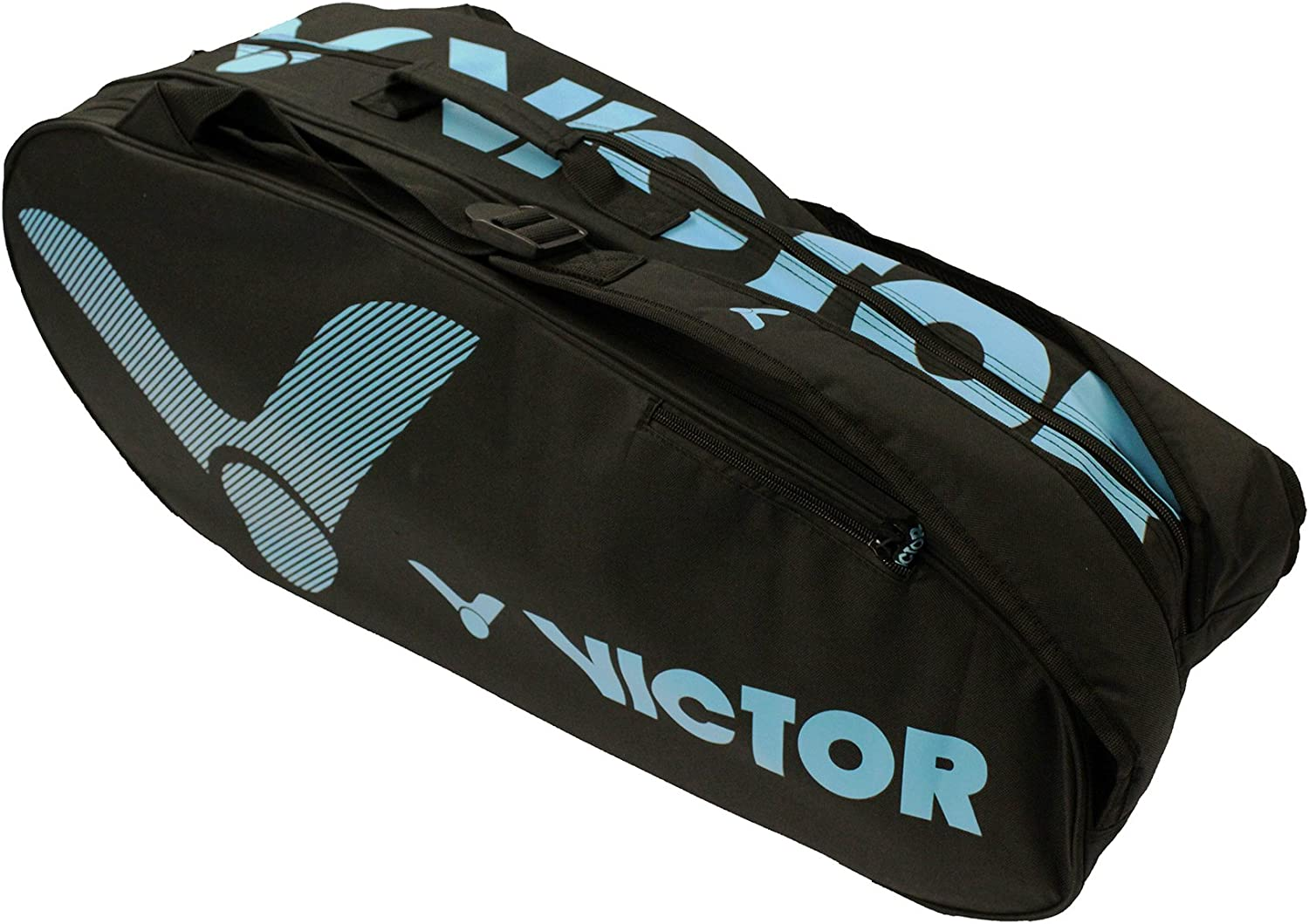 Blue 76 x 33 x 26 cm Victor Vicor Doublethermobag Limited Badminton Tasche