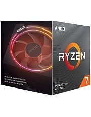 AMD Ryzen 7 3800X 8-core, 16-thread unlocked desktop processor with Wraith Prism LED Cooler