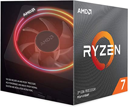 AMD Ryzen 7 3700X Processor (8C/16T, 36 MB Cache, 4.4 GHz Max Boost): Amazon.co.uk: Computers & Accessories