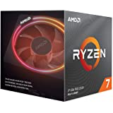 AMD Ryzen 7 3700X 8 Core Socket AM4 3.6GHz CPU Processor + Wraith Prism Cooler