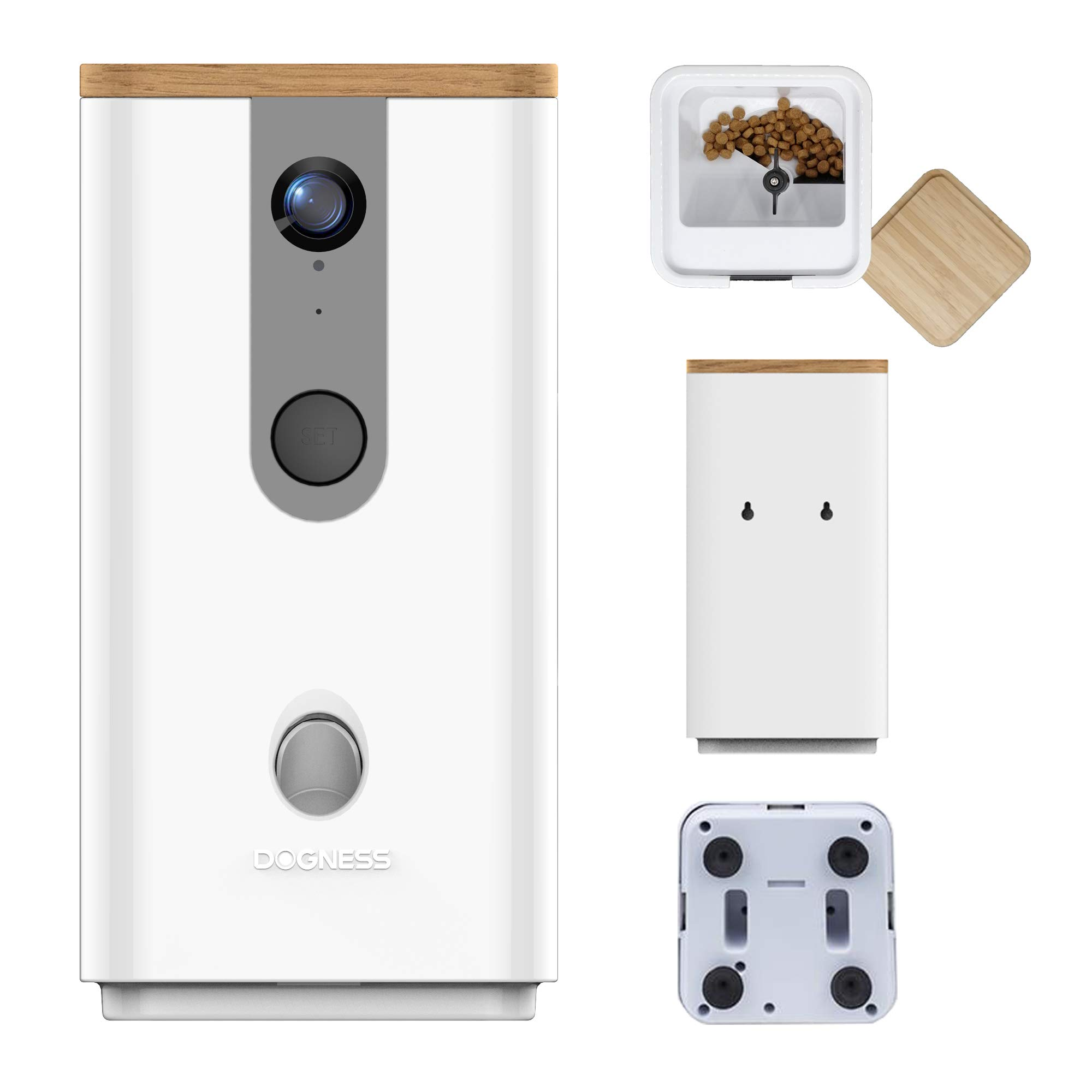 DOGNESS Dog Camera Treat Dispenser,HD Video WiFi Pet Camera with 2-Way Audio and Night Vision,Monitor Your Dogs and Cats by DOGNESS (Image #8)