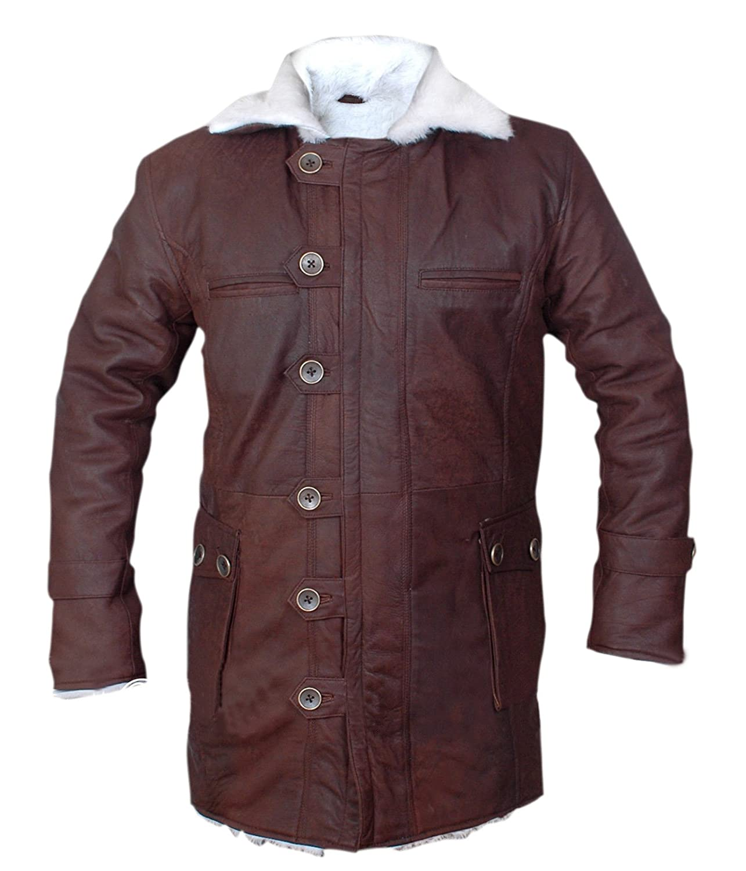 F/&H Kids Bane Genuine Stonewash Leather Shearling Coat
