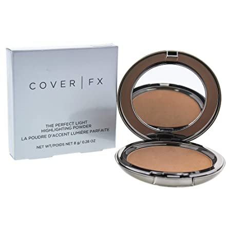 Cover FX The Perfect Light Highlighting Powder, Moonlight for Women, 0.28 Ounce