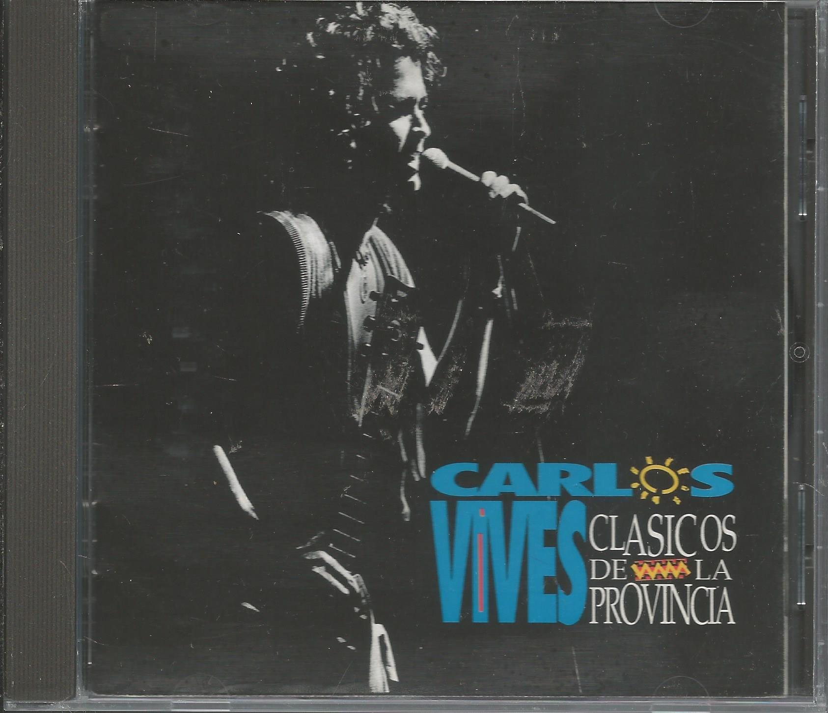 CD VALLENATO CARLOS VIVES CLASICOS DE LA PROVINCIA by