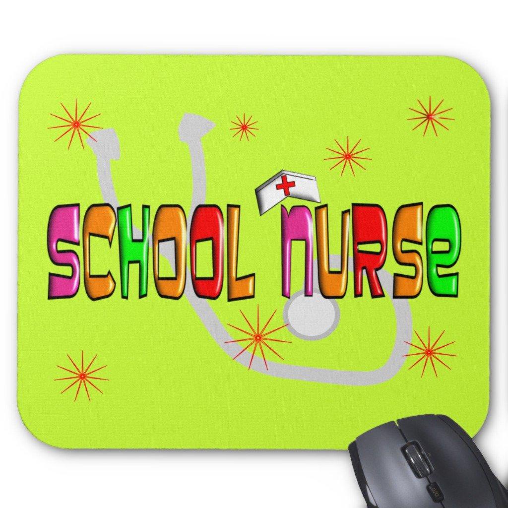 Zazzle School Nurse Gifts & T-shirts Mouse Pad