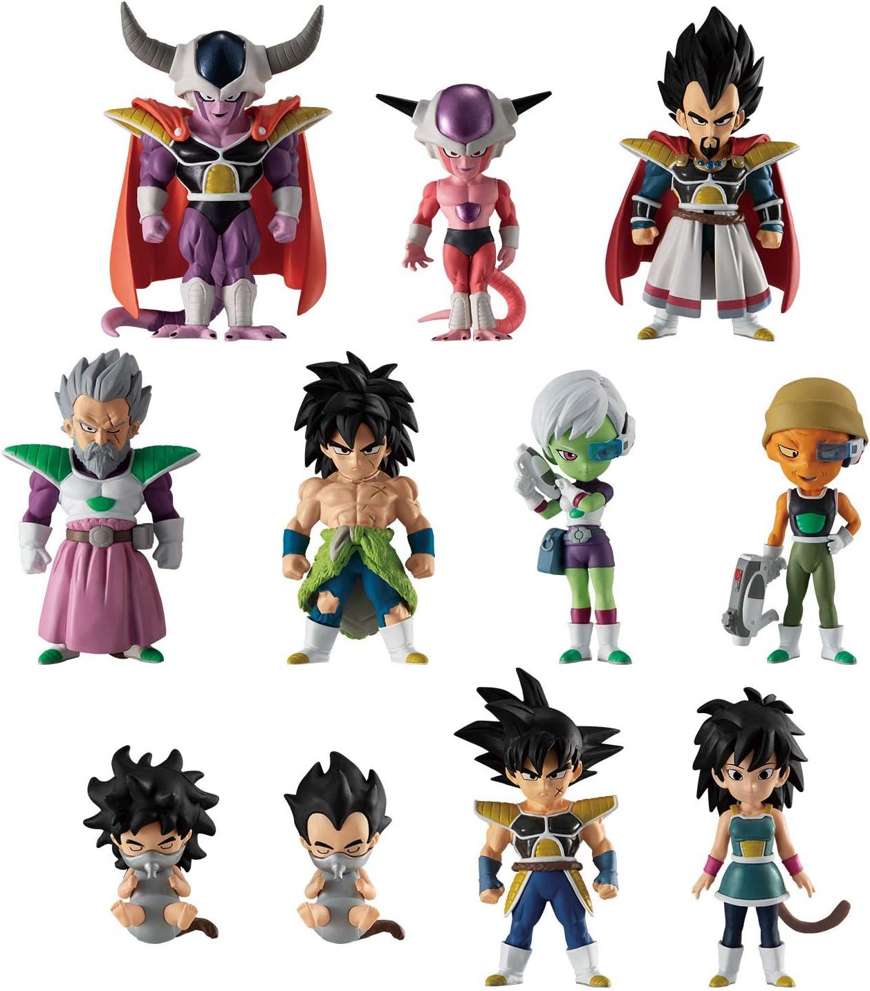 Shokugan Dragon Ball Adverge 9 Movie Special Action Figure Broly Super Saiyan