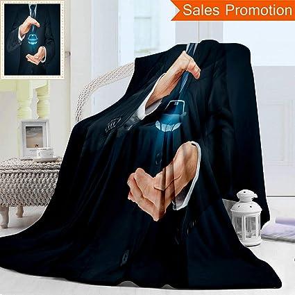 Amazon com: Unique Double Sides 3D Print Flannel Blanket Car