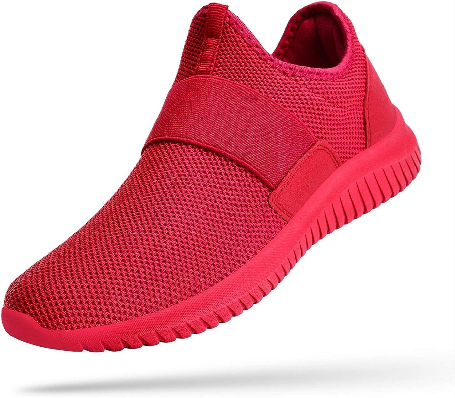 Troadlop Men Fashion Sneakers Laceless
