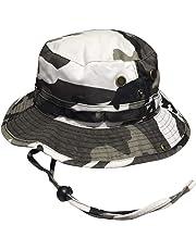 Mega Caps Outdoor Boonie Bucket Fishing Hat Hiking Cap Camo 07a775d02ad9