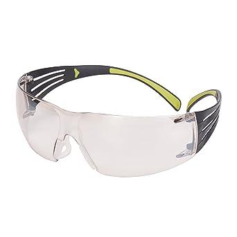 3 M SecureFit sf410as gafas de seguridad, antiarañazos, I/O espejo lente