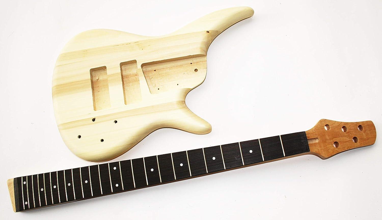 Gitarrenkörper Gitarrenhals für E-Bass SRB5 Body und Neck