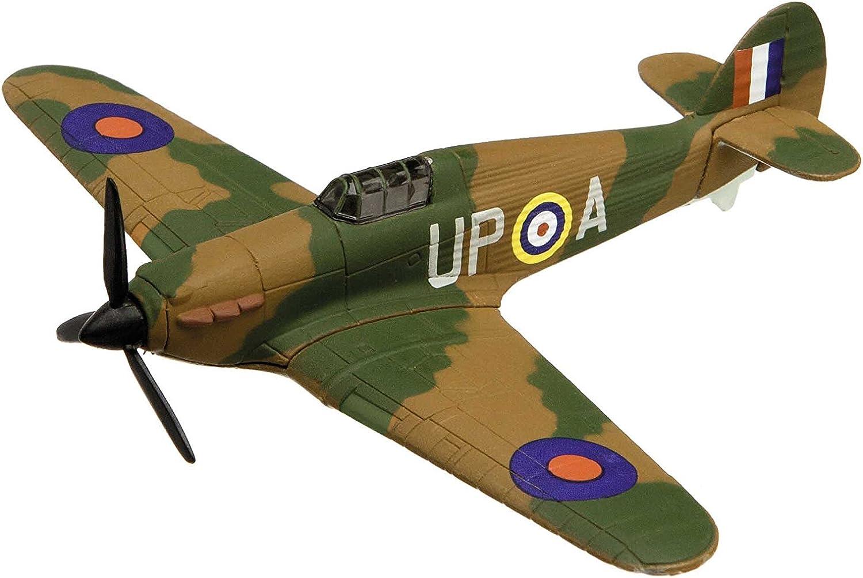 Corgi Showcase Hawker Hurricane Military Aviation Die-Cast Metal Model Fit The Box Scale CS90620