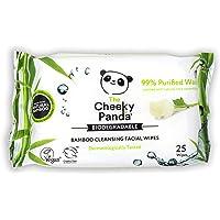 The Cheeky Panda – Gezichtsdoekjes, Rose Geurend | Pack van 25 doekjes | Make-up Remover, hypoallergeen…