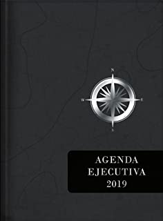 2019 Agenda Ejecutiva - Tesoros de Sabiduría - Gris carbón: Agenda ejecutivo con pensamientos motivadores