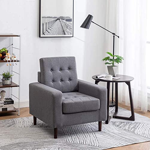 Modern Accent Chair Armchair Comfy Upholstered Chair