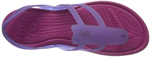 4937673484e4 crocs Women s Adrina Strappy Ultraviolet and Berry Sandals - W8  Buy Online  at Low Prices in India - Amazon.in