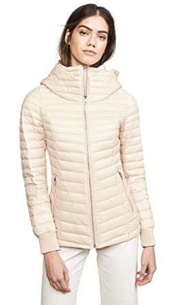 fa35510f4bd Soia & Kyo Women's BLENDA Water Repellent Lightweight Down Jacket With  Hood, Pearl, ...