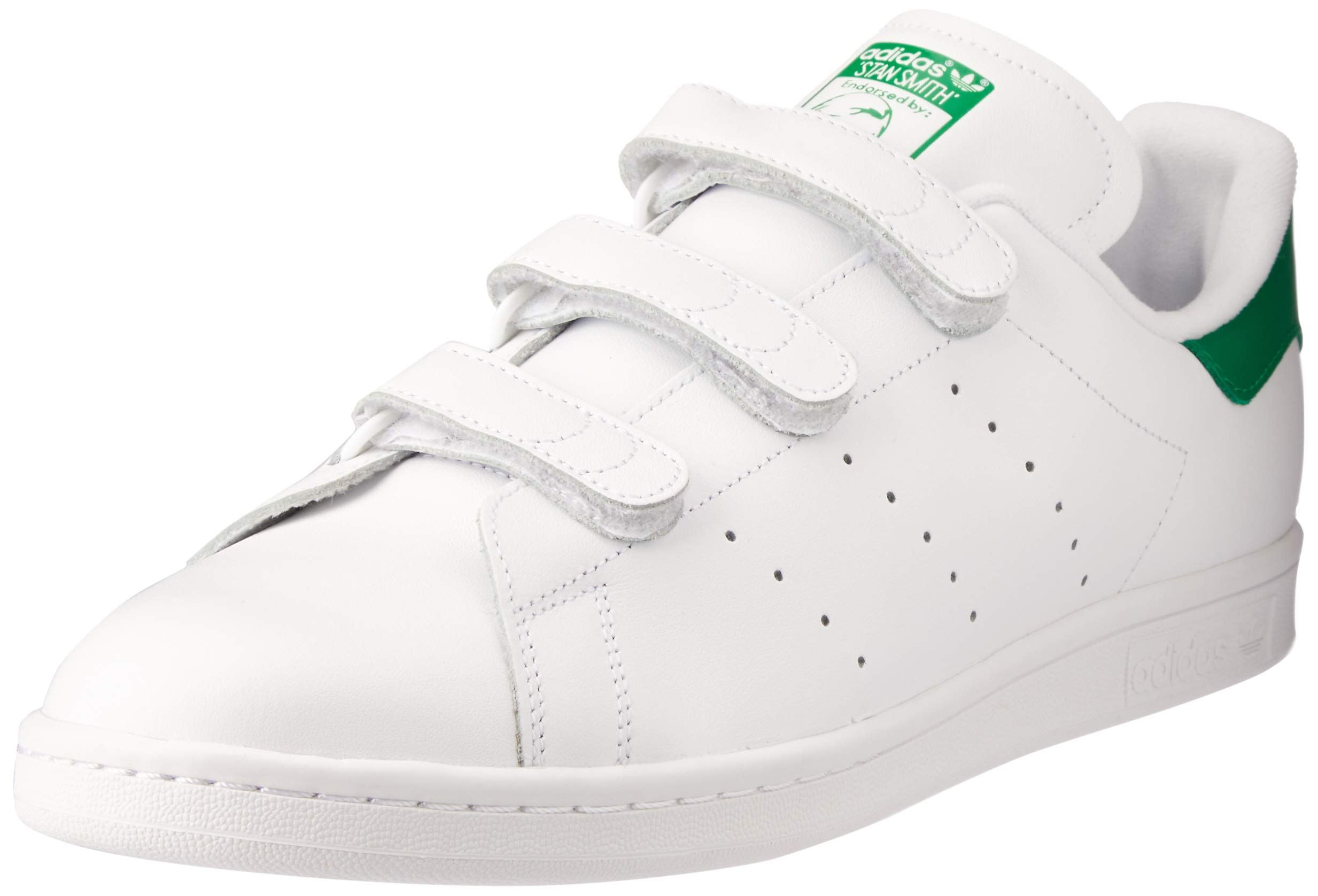 Adidas Mens Stan Smith CF Leather Trainers
