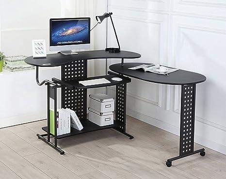 Tavolo Di Ufficio : Ebs regolabile ufficio tavolo porta pc moderno semplice stazione