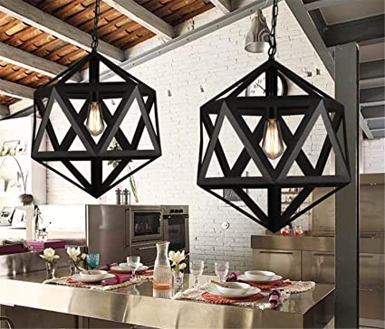 LUCKY CLOVER-A Luz de Techo de Estilo Industrial, Bakery ...