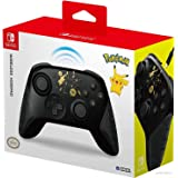 Hori Nintendo Switch Wireless HORIPAD (Pokemon: Black & Gold Pikachu) By - Officially Licensed By Nintendo and the Pokemon Co