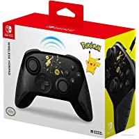 Hori Nintendo Switch Wireless HORIPAD (Pokemon: Black & Gold Pikachu) By - Officially Licensed By Nintendo and the…
