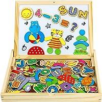 Pizarra Magnética Infantil Juguetes de Madera Letras Magneticas Niños Rompecabezas Juguetes Educativos Puzzles de Madera…