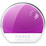 FOREO Luna Play Plus Portable Facial Cleansing Brush, Purple, 83g