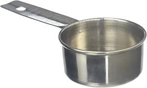 Tablecraft 1/4 Cup Stainless Steel Measuring Cup