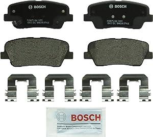 Bosch BP1284 QuietCast Premium Disc Brake Pad Set For: Genesis G90; Hyundai Entourage, Equus, Genesis, Genesis Coupe, Santa Fe, Santa Fe Sport, Santa Fe XL; Kia Borrego, K900, Sedona, Sorento, Rear