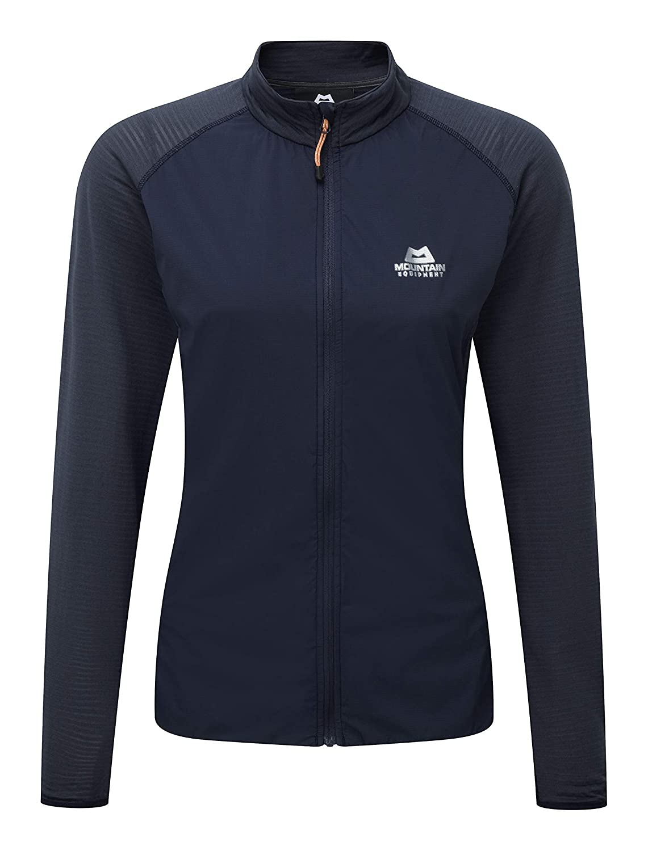14 Cosmos//Blue Nights Mountain Equipment Womens Trembler Softshell Fleece Jacket