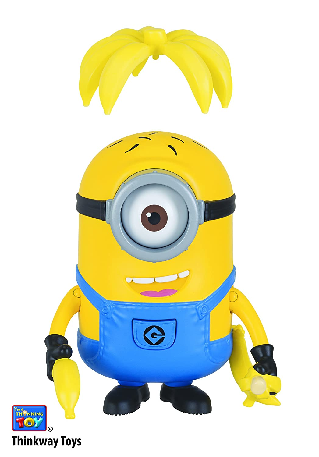Despicable Me Deluxe Action Figure Banana Crazy Carl Toy Figure Thinkway Toys 20244