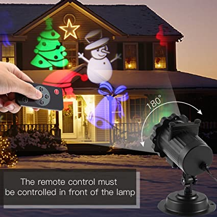 Amazon.com: Proyector luces de navidad, icoco día festivo ...