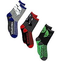 Star Wars Boys 3 pack Socks (Little Kid/Big Kid/Teen/Adult)
