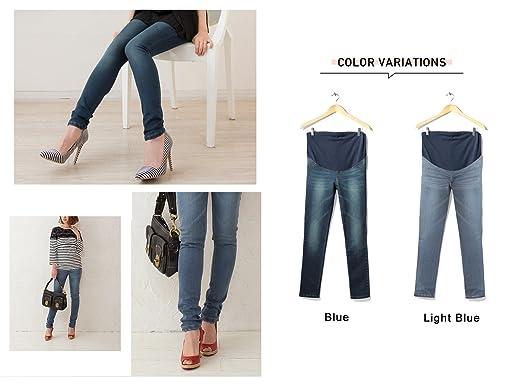 Sweet Mommy sp5057 Jeans de embarazo Copa Skinny azul 36: Amazon.es: Ropa y accesorios