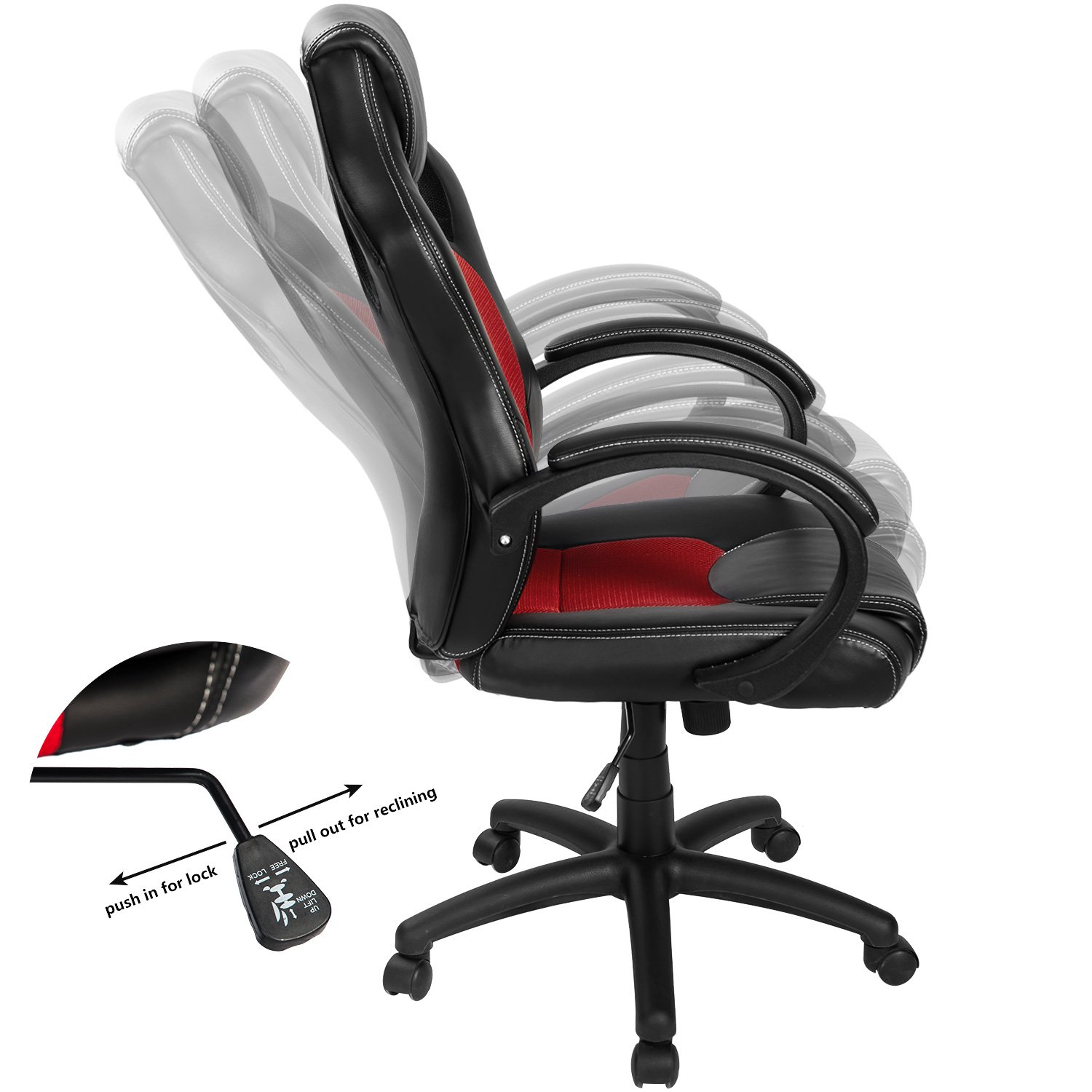 Amazon Merax Executive Home fice Chair Racing Style Gaming