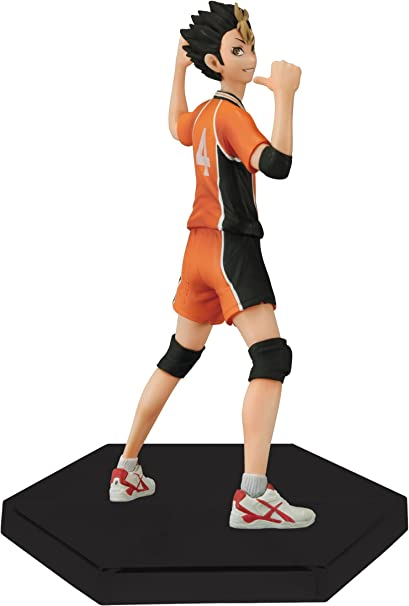 Amazon.com: Banpresto haikyuu 6.3-Inch Yu Nishinoya cifra ...