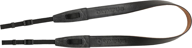 Olympus Css S119l Premium Trageriemen Aus Leder Schwarz Kamera