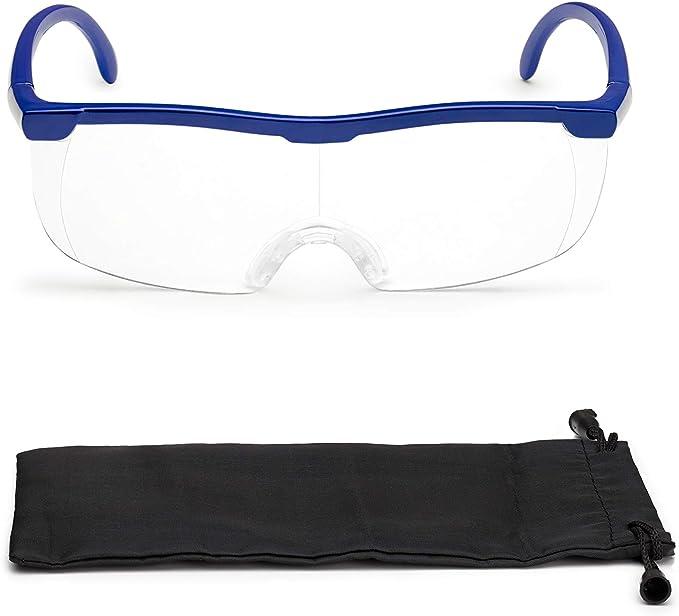 Vergrößerungsbrille Lupenbrille Zauberbrille Lupe Auf Der Nase Optische Vergrößerung Auf 200 Blau Bürobedarf Schreibwaren