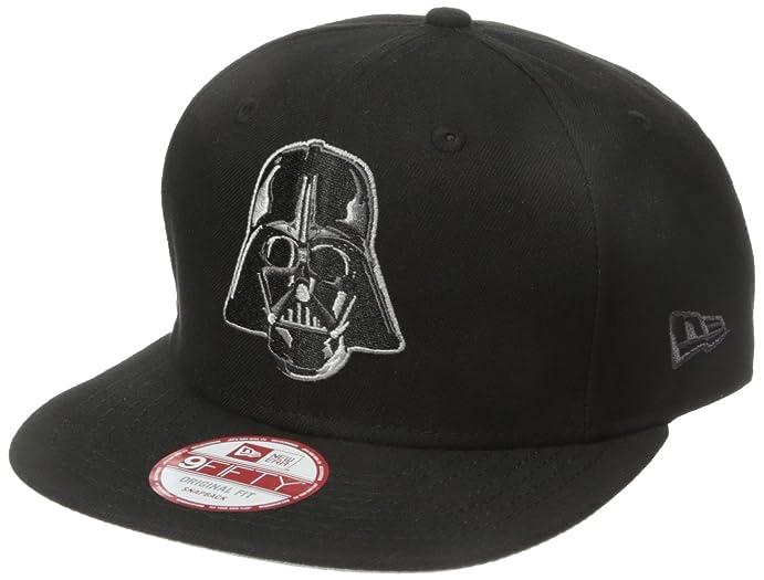 Unisex Darth Vader Trucker Flat Cap, Black, One Size Star Wars