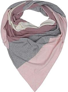 efa7c4e1618e7d Cashmere Dreams Dreieckstuch mit Kaschmir - Hochwertiger Schal mit Streifen  für Damen Jungen und Mädchen -