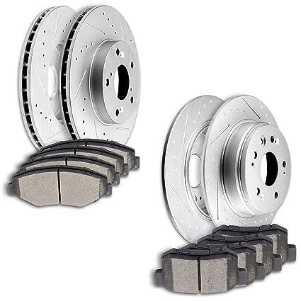|Front Rotors w//Ceramic Pads OE Brakes 2002 2003 2004 Honda CRV Rear
