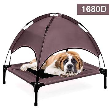 Jolitac Cama elevada para Mascotas con Dosel extraíble para Perro o Gato: Amazon.es: Productos para mascotas